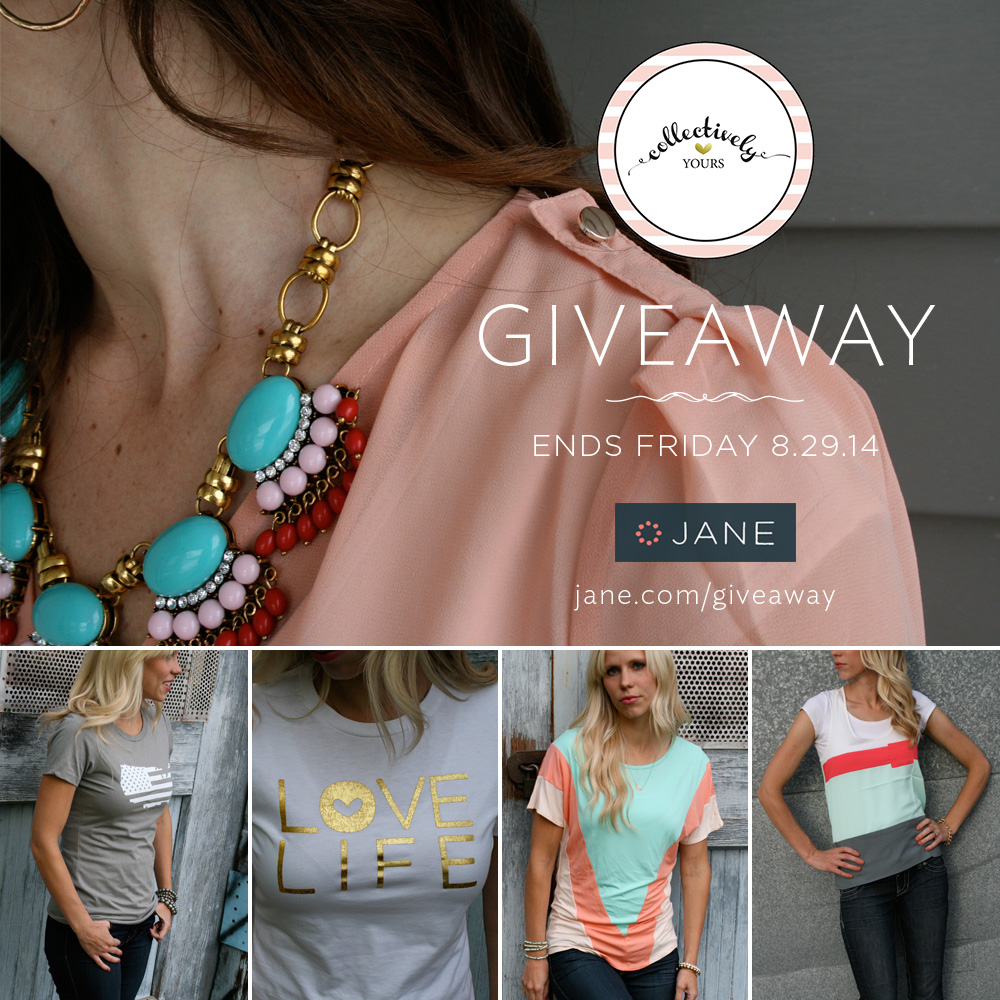 Jane.com - Collectively Yours Giveaway #giveaway #janegiveaway