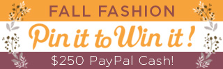 Fall Fashion Pint It to Win It Contest