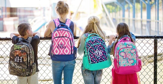 Personalized Backpacks- Regular and Sequin!!