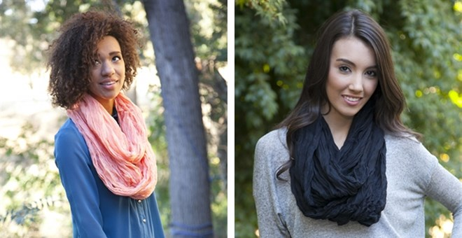 $4.99 | CAMILLE SOLID INFINITY SCARF - 5 COLOR OPTIONS!