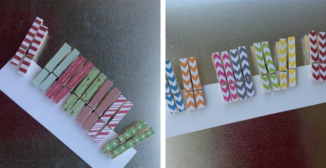 DARLING CLOTHESPINS!—4 DESIGNS