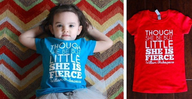She is Fierce Girl's Tee