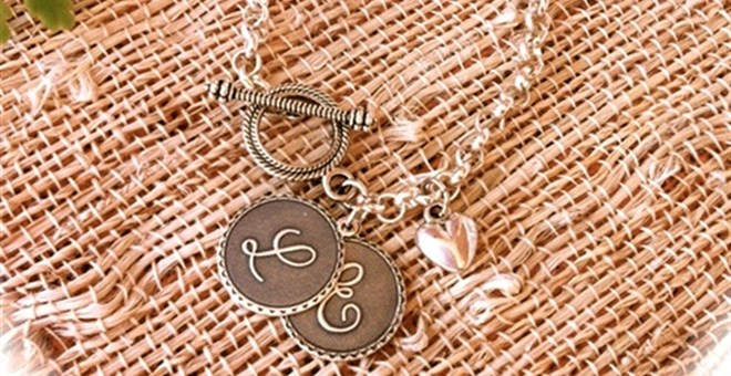 Designer Inspired Initial Charm Bracelet Jane Exclusive!