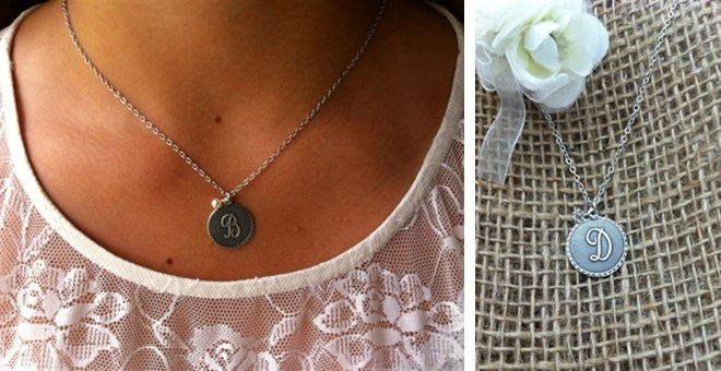 Designer Inspired Initial Charm Necklace Jane Exclusive!