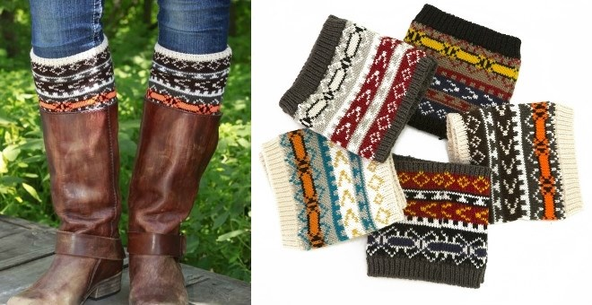 REVERSIBLE Must Have Boot Cuffs