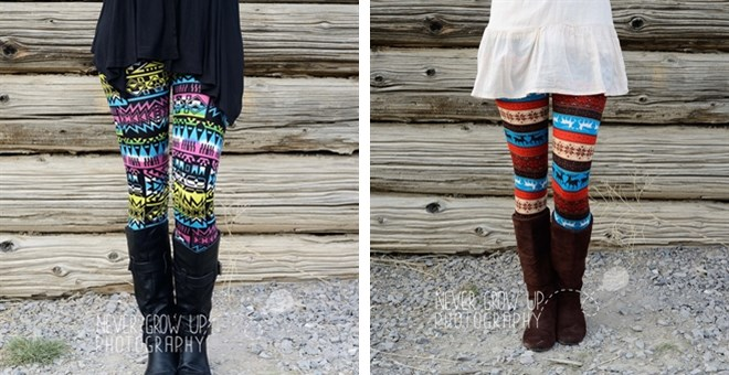 Women's holiday leggings