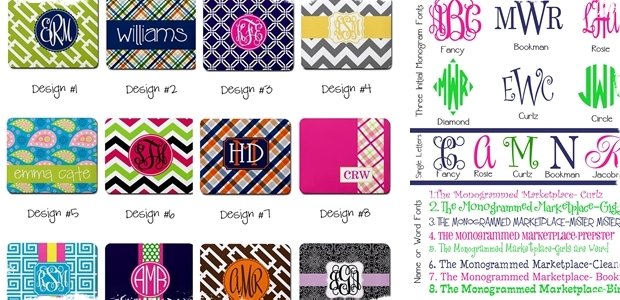 Perfectly Personalized Mousepads - 48 Designs to Choose From!