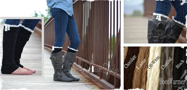 Womens Fall Boot Socks! 5 Colors to choose From!