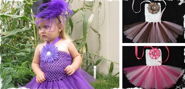 Cute Tutu Dresses - Available in 34 Colors Options!