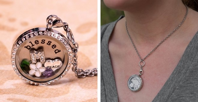 Customized Floating Locket- in...