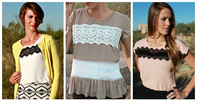 Lace Blouse Clearance -- 2 Gorgeous Styles!