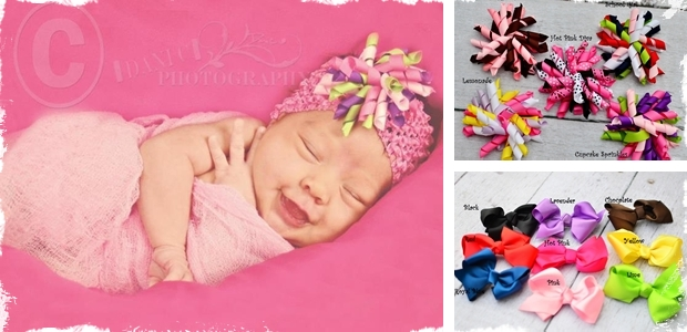 Darling Hair Bows! - 2 Adorable Styles!