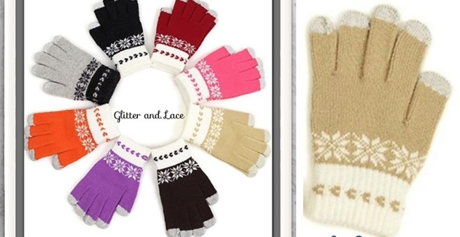 Texting Gloves! Guarantee Christmas Delivery!