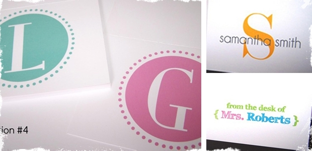 Design Your Own Custom Stationery – Set of 8 Cards and Envelopes!