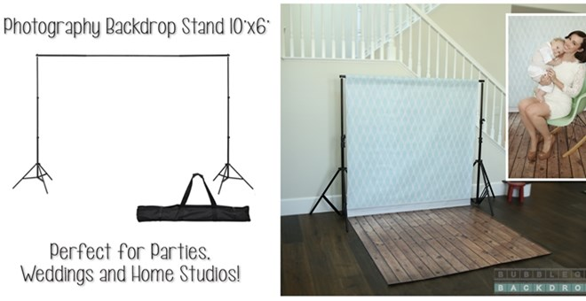10'x6' Photography Backdrop Stand
