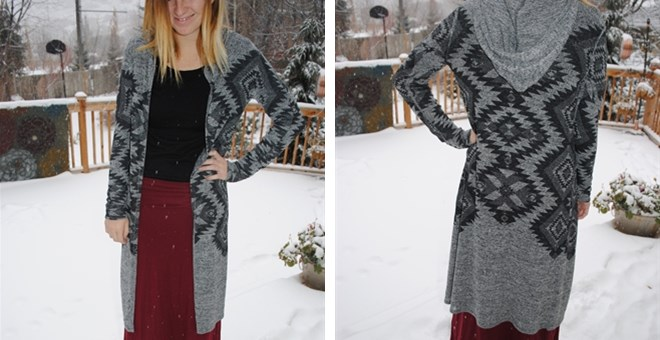Darling Aztec Sweaters!!