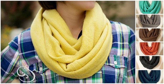 Infinity Sweater Scarf – 7 Cozy Colors!