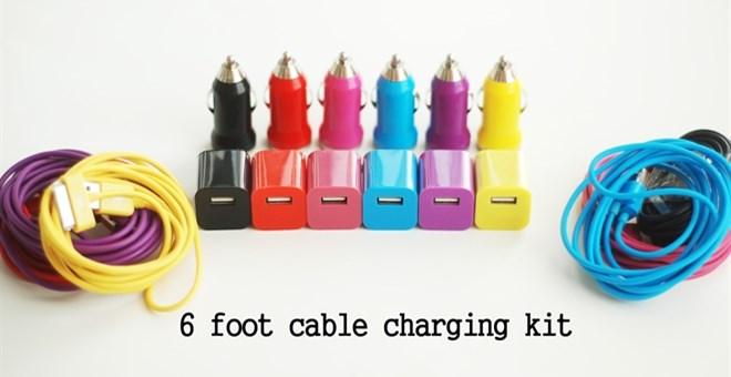 6 FOOT iPhone Charging Cable Kit