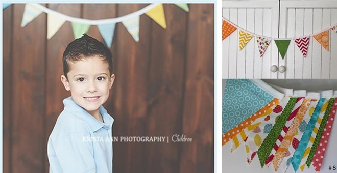 Decorating & Photo Prop Pennant Buntings