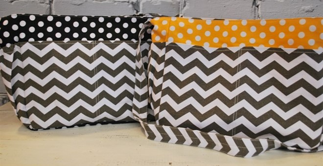 Chevron & Polka Dot Bag Blowout Sale