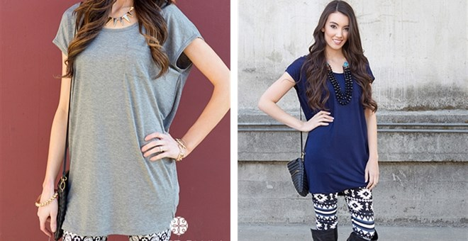 Seaside Pocket Tunic! 3 Color Options!