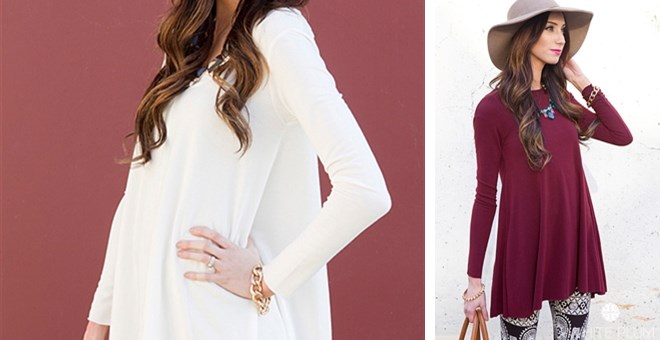 HIGH QUALITY Stella Tunic! 4 Color Options!