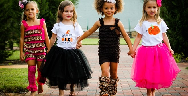 Whimsical Girls Tutu- 10 Colors & 2 Sizes available