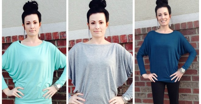 Perfect Dolman Sleeved Tunics!