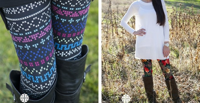 White Plum's Best Selling Print Leggings! New Styles Available!