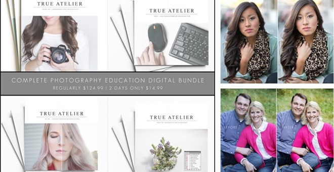 Photography and Editing Education + Photoshop Action Set Bundle for Moms and Enthusiasts