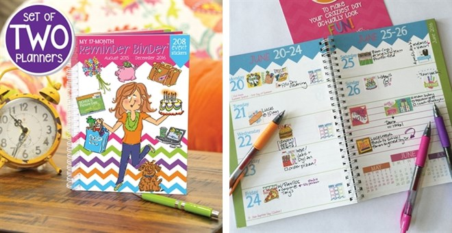 Set of 2 | 2016 Mom Planners