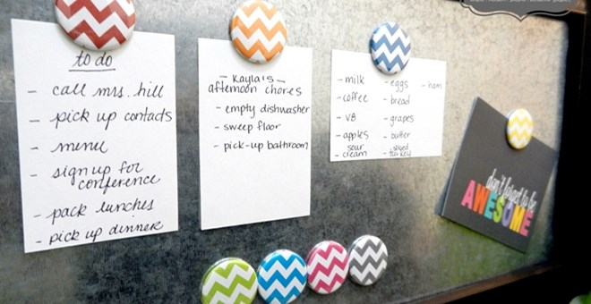 CHEVRON BUTTON MAGNETS