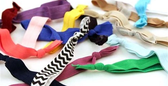 DIY Elastic Hair Ties Kit