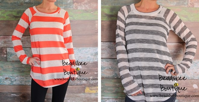 Favorite Long Sleeve Hacci Top is BACK – 2 Colors Sm-XL