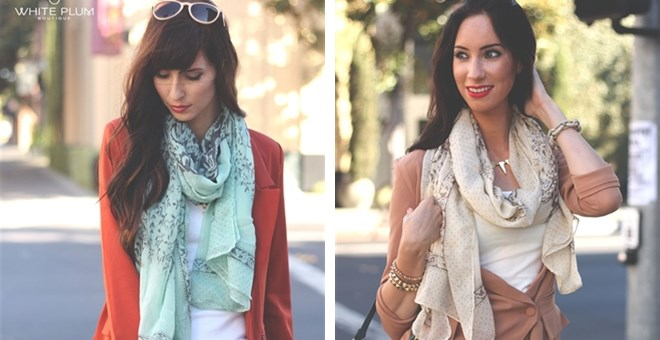 Natasha Scarves! 4 Colors Available!