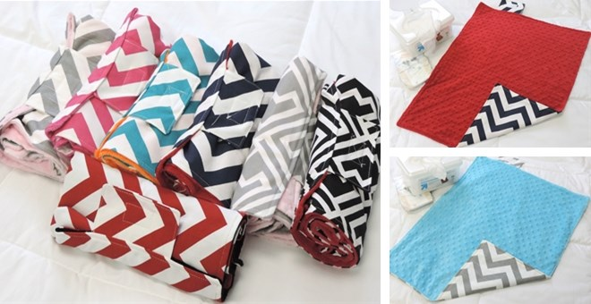 Trendy & Chic Travel Changing Pad