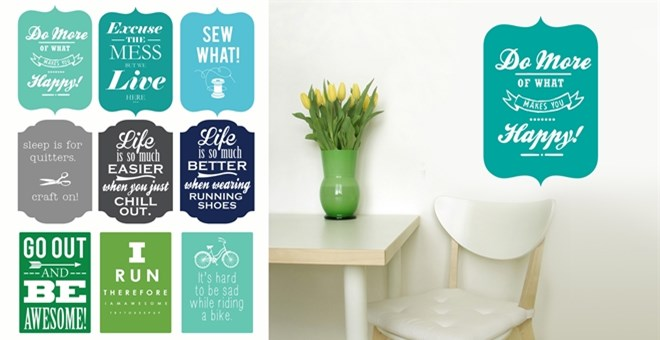 Sassy Sayings Vinyl Decals