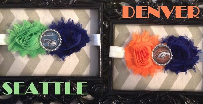 SUPERBOWL football headbands