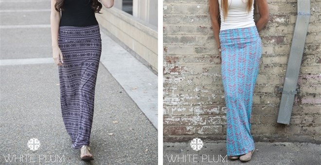 Santa Monica Printed Maxi Skirts! 11 Styles Available!