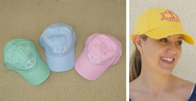 Personalized Pigment Dyed Baseball Caps-10 Colors