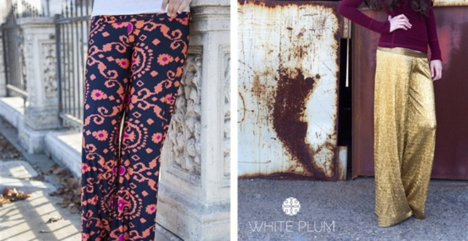 White Plum's Palazzo Pants! 25 Styles Available!