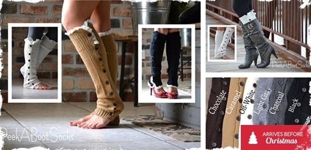 Women's Leg Warmers - 6 Colors to Choose From!