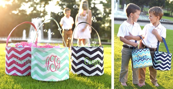 Personalized Easter Totes