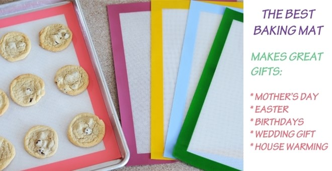 THE BEST BAKING MAT! 5 FUN COLORS!