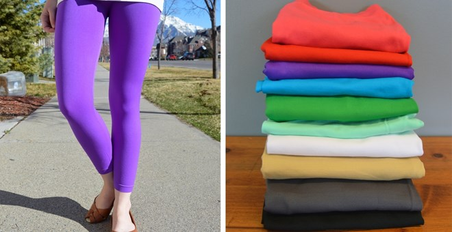 Capri Leggings – 10 Colors!!