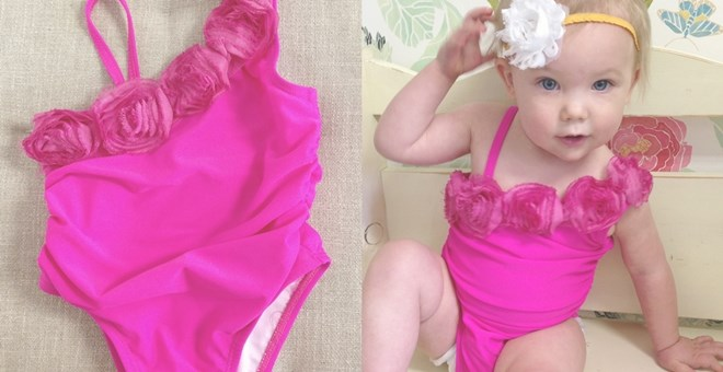 So Girly Swimsuit for Baby