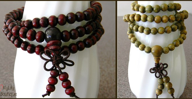Super Cute Sandalwood Bracelets!