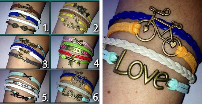 Spring/Summer Expression Bracelets, a must have!!