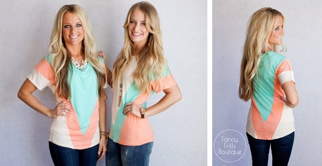 Spring Colorblock Tops!