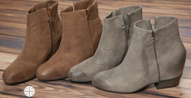 Hartford Ankle Boots! 2 Color Options!